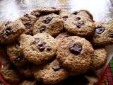 Ovesné sušenky s čokoládou recept