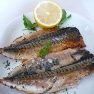 Pečené makrely na roštu recept