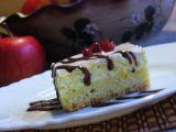 Koláč s tvarohem a jablky recept