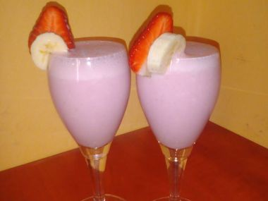 Jogurtový nápoj s ovocem