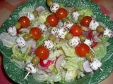 Mozzarella na salátu recept