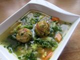 Kapustová polévka s kroketami recept