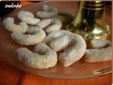 Vanilkové rohlíčky s ořechy recept