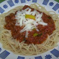 Boloňské špagety recept