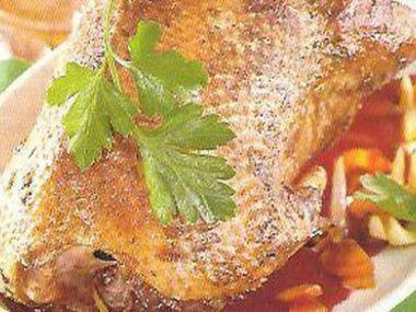 Recept Divoká kachna s broskví