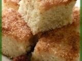 Kokosová buchta politá smetanou recept