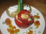 Plněné papriky zapečené recept