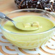 Hrášková polévka s uzeným tofu recept