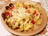 Těstovinový salát s fenyklem recept