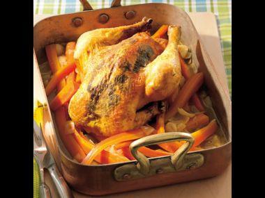 Česnekové kuře na šlehačce