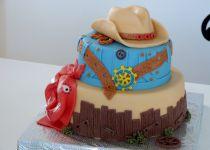Dvoubarevný dort se šlehačkou recept