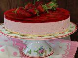 Jahodový smetanový dort (mousse) recept
