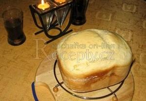 Bílý superrychlý česnekový chléb