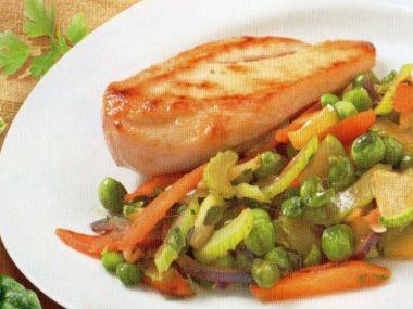 Glazovaná zelenina s medem
