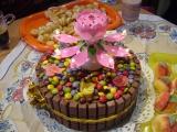 Punčový dort recept