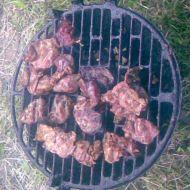 Kachní játra na grilu recept
