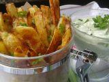 Česnekové hranolky s dipem Wasabi recept
