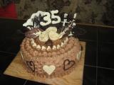 Moje dorty k narozeninám  inspirace recept