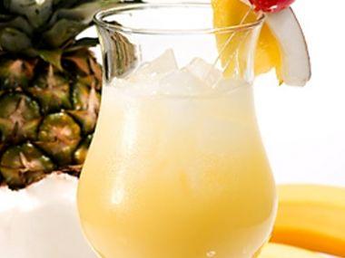 Ananasový střik nealko