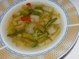 Polévka z odřezků zeleného chřestu a zeleniny recept  TopRecepty ...