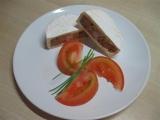 Plněný hermelín s domácí tlačenkou recept