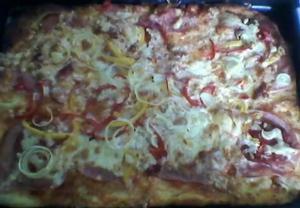 Domácí pizza podle Míši