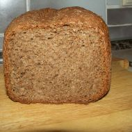 Grahamový chléb z domácí pekárny recept