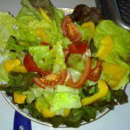 Zeleninovo-kuřecí salát recept