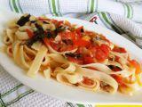Těstoviny s rajčaty recept