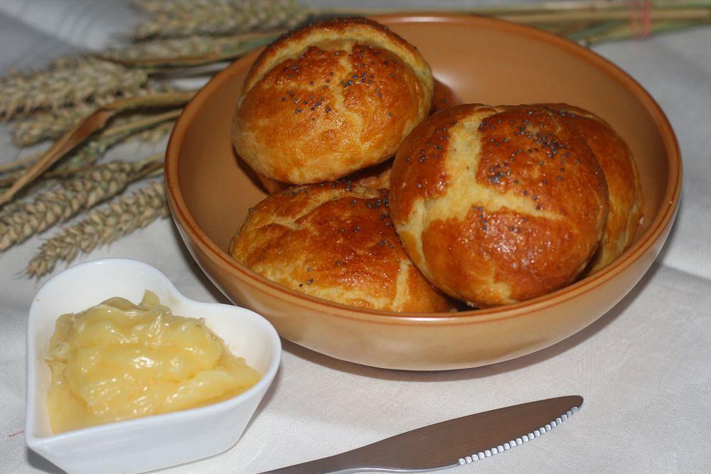 Naducánky s medovým máslem recept