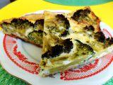 Brokolicový koláč recept