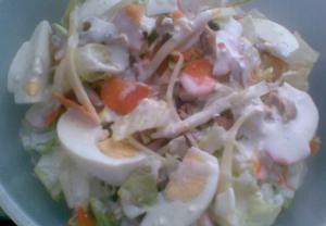 Kuřecí zbytkový salát