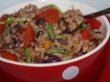 Sójové maso se zeleninou recept