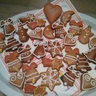 Medové vánoční perníčky recept