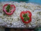 Pórek zapečený s rýží a uzeným masem recept