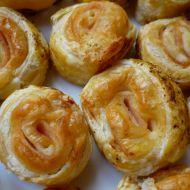 Šnečci se sýrem z listového těsta recept