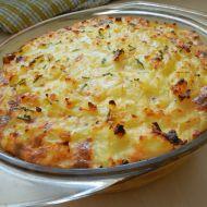 Zapékané zeleninovo-sýrové brambory recept