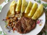 Krkovička na zelenině recept