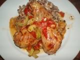 Kuře s letní zeleninou recept
