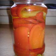 Papriky ve sladkokyselém nálevu recept