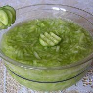 Okurkový salát s citrónem recept