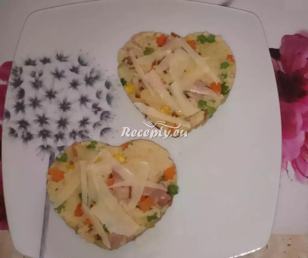 Valentýnské zeleninové rizoto s žampiony recept  slavnostní ...