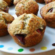Švestkové muffiny s mákem recept