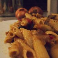 Chutné těstoviny s lilkem recept