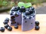 Smetanovo borůvkový dortík recept