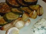 Pečený lilek, cuketa, paprika, cibule recept