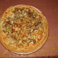 Pizza s mořskými plody recept
