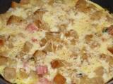 Rychlá topinková omeleta recept