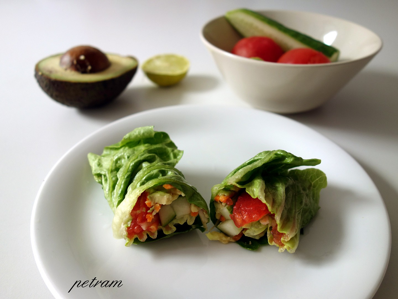 Zeleninové závitky recept