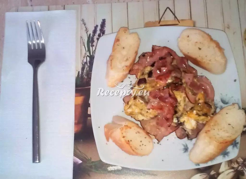 Provensálská omeleta recept  předkrmy, snídaně